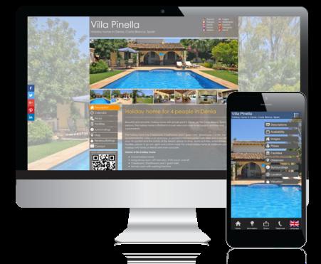 Consiga su propia su sitio web en alquiler para vacaciones