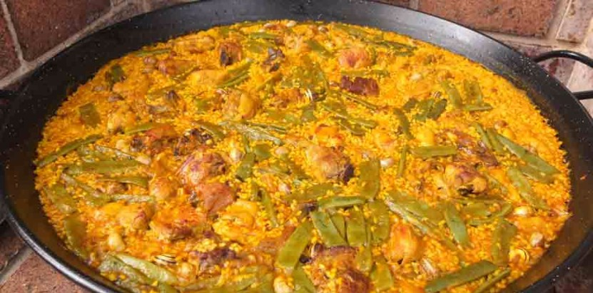 the Paellas Valencia Spain