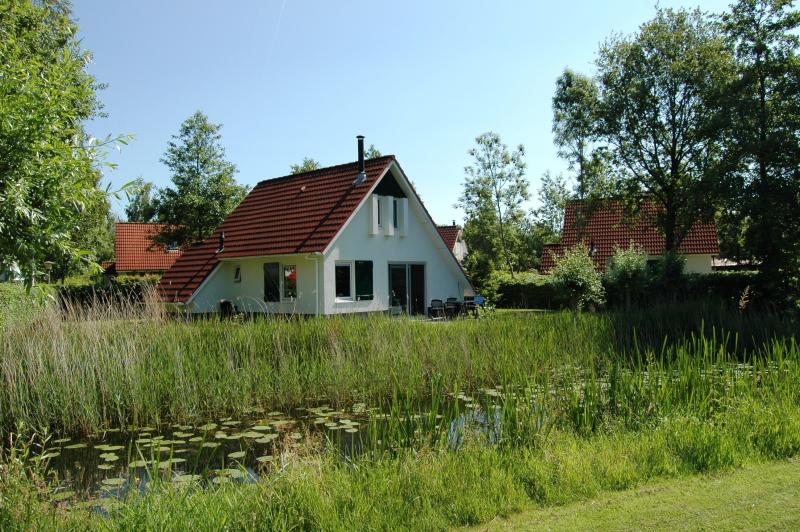 Landgoed eysinga state 272822,Casa de vacaciones grande en St. Nicolaasga, Friesland, Holanda  con piscina privada para 4 personas...
