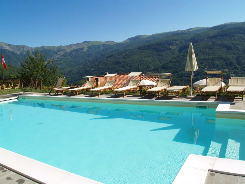 Tana dell istrice 274517,Apartamento grande en Cutigliano, en Toscana, Italia para 5 personas...