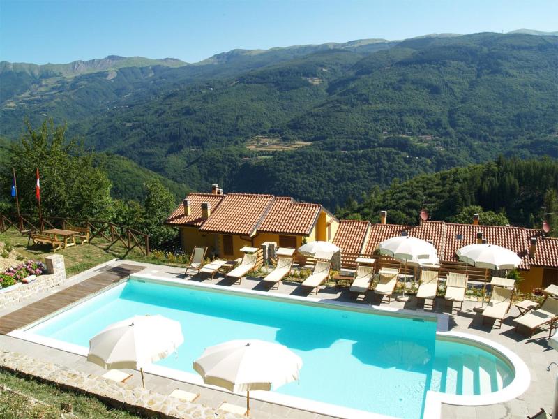 Tana dell istrice 274518,Apartamento grande en Cutigliano, en Toscana, Italia para 6 personas...