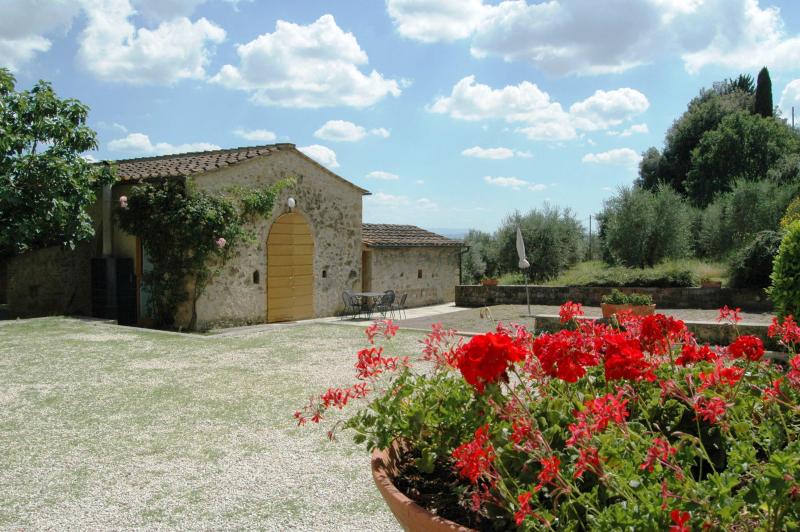 Agriturismo la moraia 274668,Apartamento grande en Poggibonsi, en Toscana, Italia  con piscina privada para 6 personas...