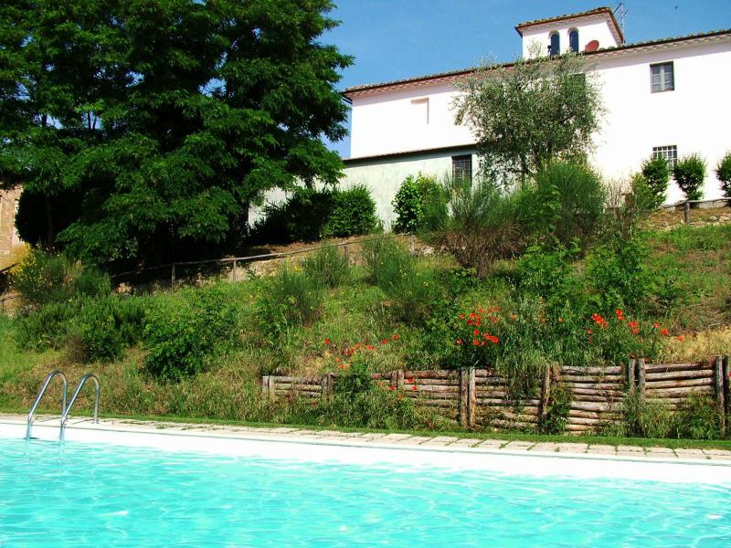 Agriturismo la moraia 274669,Apartamento grande en Poggibonsi, en Toscana, Italia  con piscina privada para 6 personas...