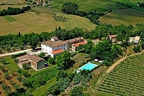 Agriturismo la moraia 274670,Apartamento grande  con piscina privada en Poggibonsi, en Toscana, Italia para 8 personas...
