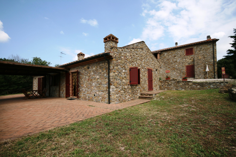Tenuta brancorsi 275148,Casa grande en Sassetta, en Toscana, Italia para 6 personas...
