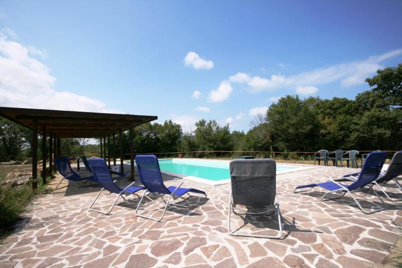 Tenuta brancorsi 275152,Apartamento grande en Sassetta, en Toscana, Italia para 6 personas...