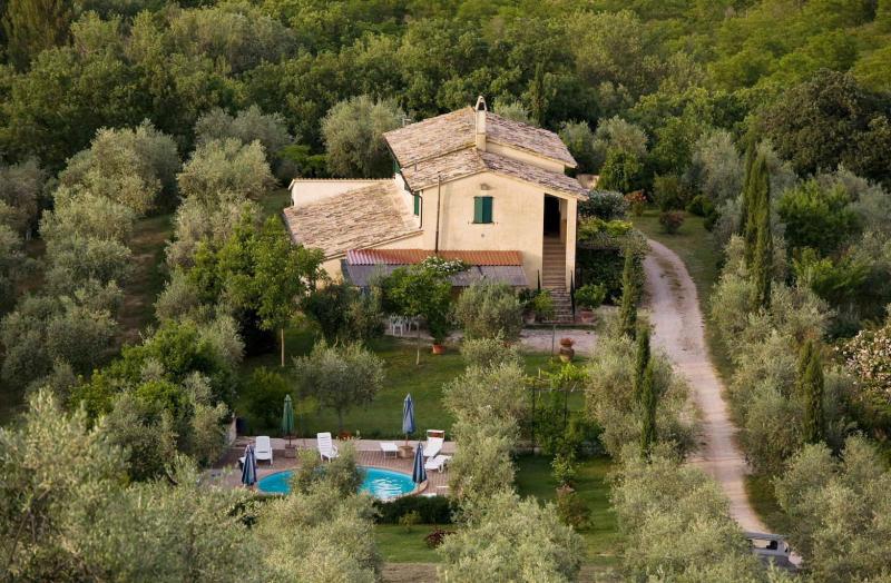 Azienda la fonte 275493,Apartamento grande en Bevagna, Umbria, Italia  con piscina privada para 2 personas...