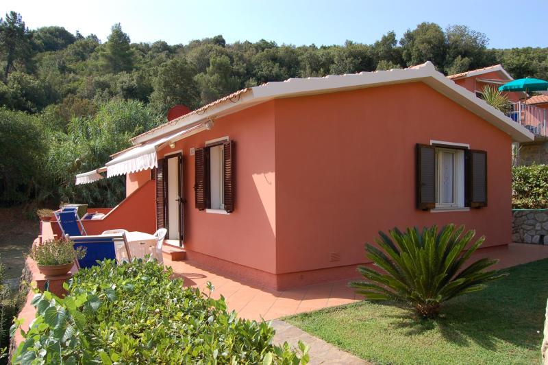 Mareblu 276363,Apartamento grande en Straccoligno, Elba, Italia para 4 personas...