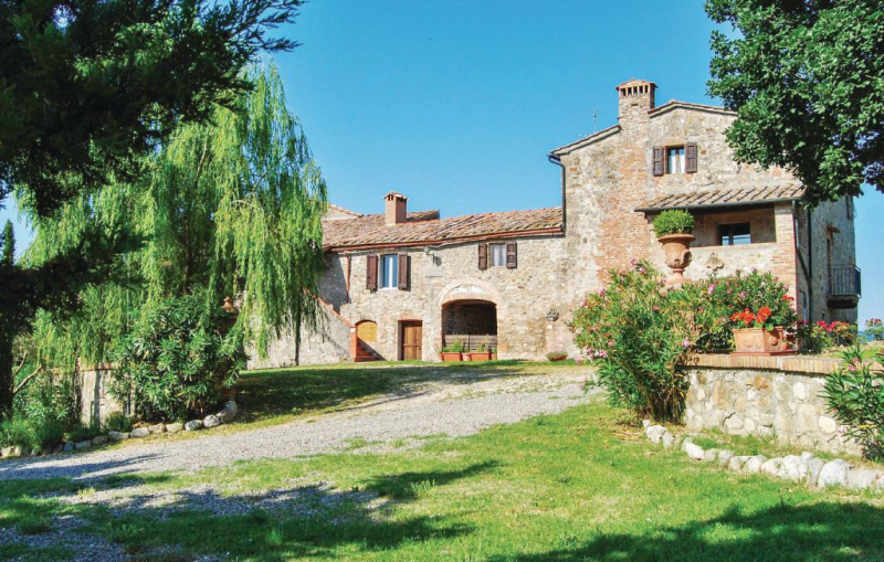 Materno 1 117225,Apartamento  con piscina comunitaria en Radicondoli Si, en Toscana, Italia para 8 personas...