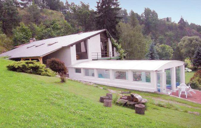 1115727,Vivienda de vacaciones en Bechyne, Jihoceský kraj, Chequia  con piscina privada para 6 personas...