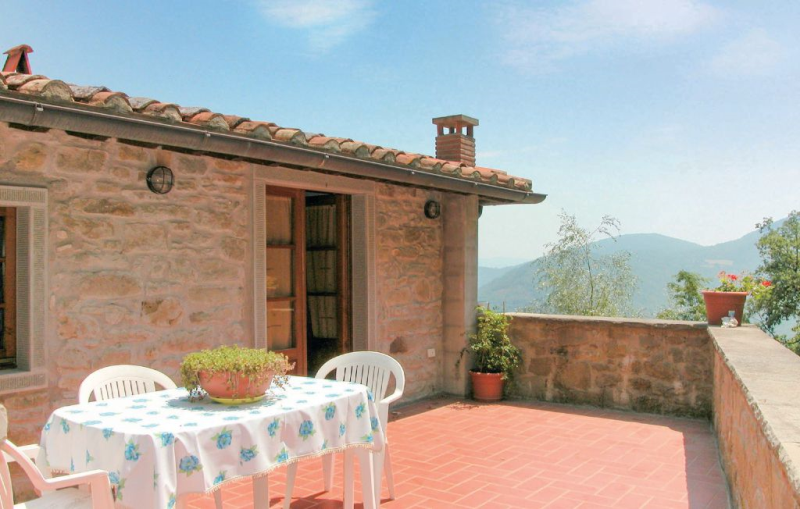 Baita 1118859,Apartamento  con piscina comunitaria en Cortona, en Toscana, Italia para 3 personas...
