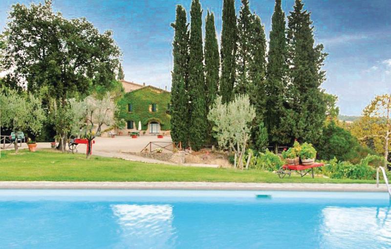 Papavero 1118887,Apartamento  con piscina privada en S. Gimignano Si, en Toscana, Italia para 6 personas...