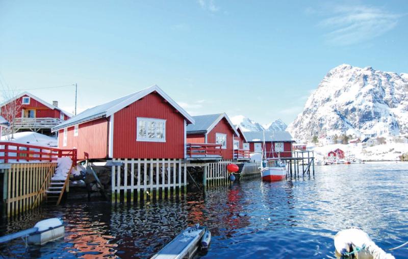 1141365,Casa en Sørvågen, North Norway, Noruega para 6 personas...