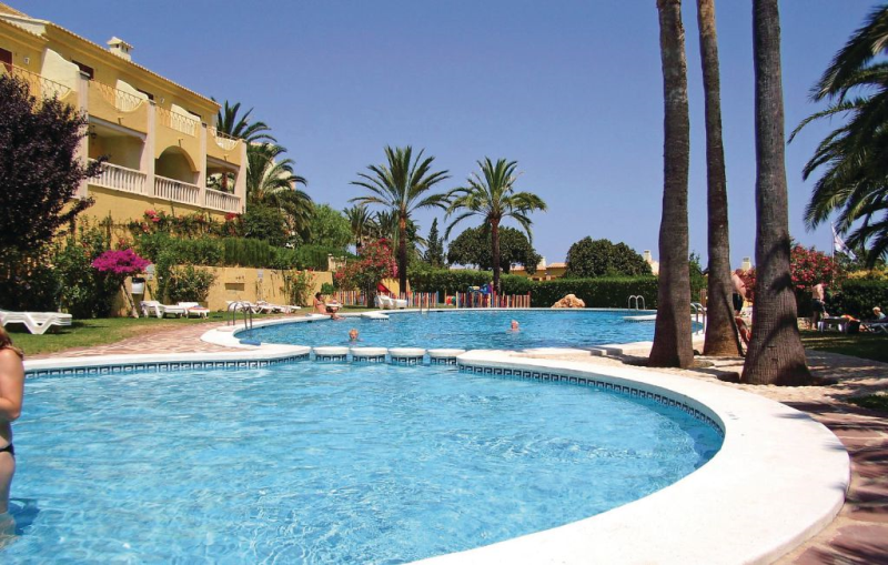 1141867, Apartment  with private pool in Denia, on the Costa Blanca, Spain for 4 persons...