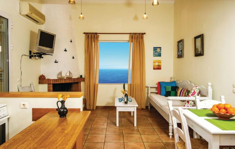 1143093,Apartamento  con piscina privada en Chania-kreta, Crete, Grecia para 3 personas...