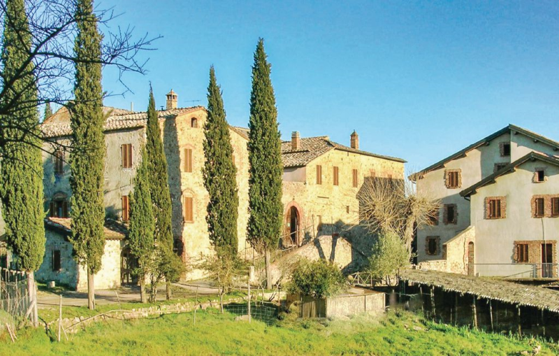 Ginestra 1 1144653,Apartamento  con piscina privada en Monticiano Si, en Toscana, Italia para 4 personas...