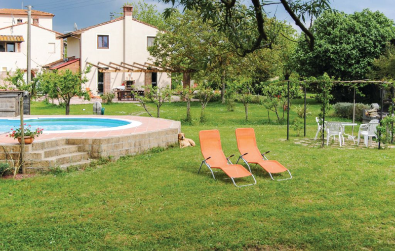 Fienile 1148272,Casa  con piscina privada en Fornacette Pi, en Toscana, Italia para 6 personas...