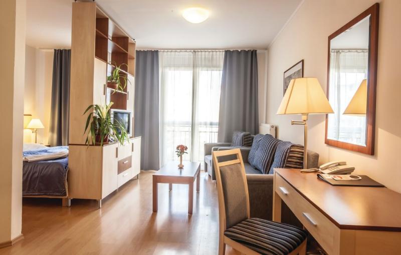 1150011,Apartamento en Budapest, Budapest, Hungría para 3 personas...
