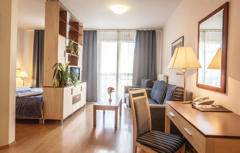 1150012,Apartamento en Budapest, Budapest, Hungría para 3 personas...