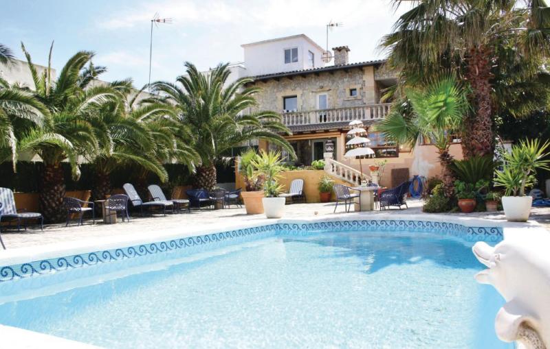 1161684,Apartamento  con piscina privada en Son Serra de Marina, Mallorca, España para 6 personas...