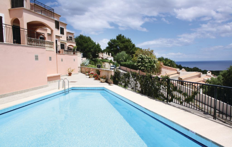 1161959,Apartment in Font De Sa Cala, Mallorca, Spain  with private pool for 4 persons...