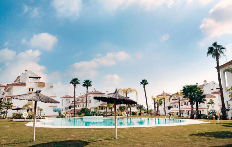 1166284,Apartamento en La Cala De Mijas, Andalucía, España  con piscina privada para 4 personas...