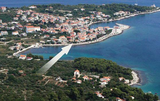 1169563,Apartamento en Sucuraj, Dalmatia Islands, Croacia para 4 personas...