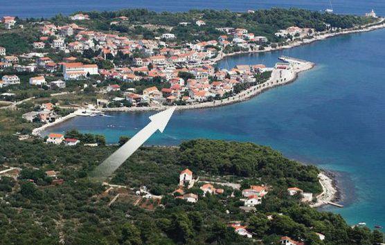 1169564,Apartamento en Sucuraj, Dalmatia Islands, Croacia para 4 personas...