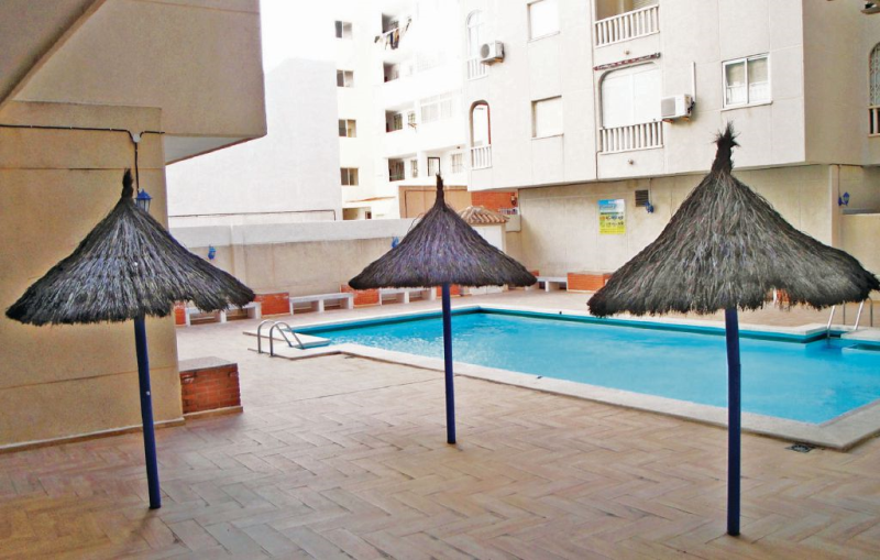 1179087, Apartment  with private pool in Torrevieja, on the Costa Blanca, Spain for 2 persons...