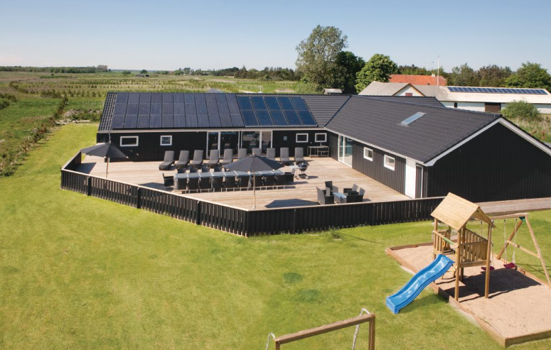 1182161,Casa grande en Jerup, North Jutland, Dinamarca  con piscina privada para 26 personas...