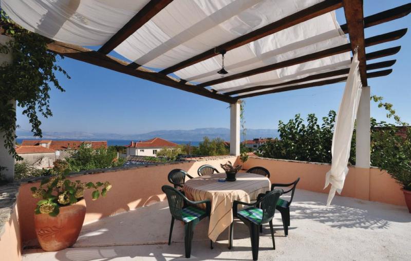 1182248,Apartamento en Mirca, Insel Brac, Croacia para 6 personas...