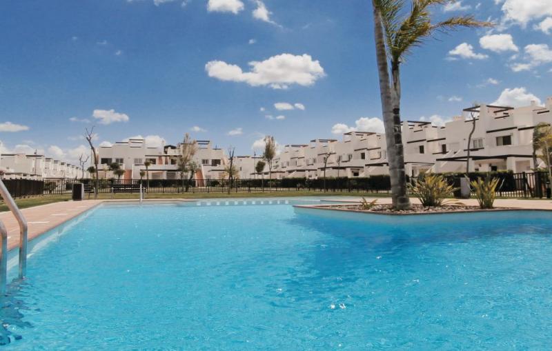 1183005,Apartamento  con piscina privada en Alhama de Murcia, Murcia, España para 5 personas...