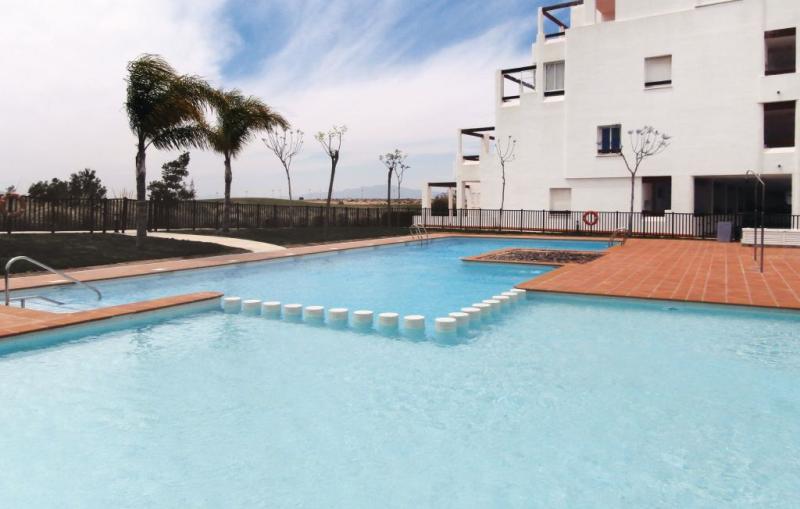 1183297,Appartement in Alhama de Murcia, Murcia, Spanje  met privé zwembad voor 4 personen...