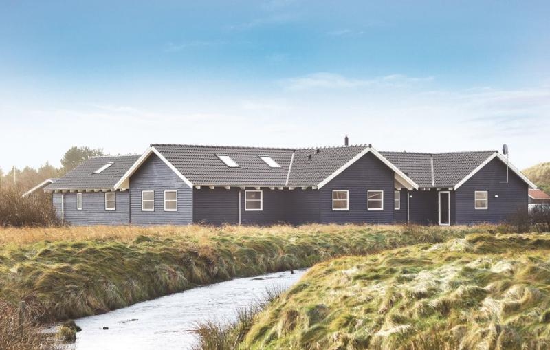 1155474,Casa grande  con piscina privada en Vejers Strand, West Jutland, Dinamarca para 24 personas...