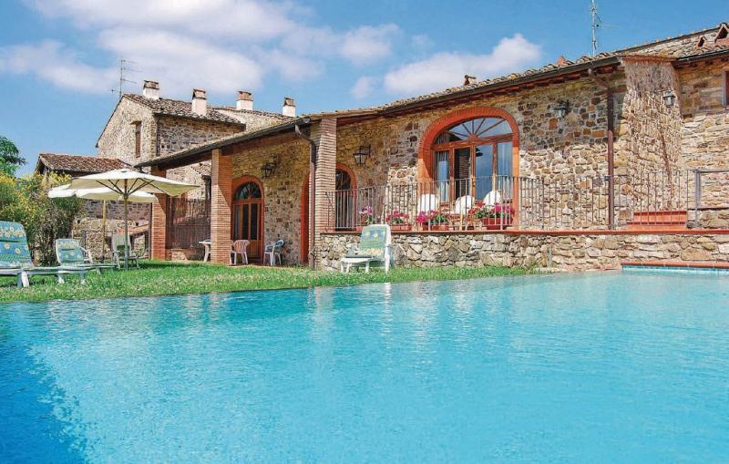 Le masse 1156208,Casa en Greve In Chianti Fi, en Toscana, Italia  con piscina privada para 8 personas...