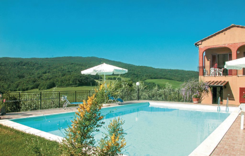 Capanne 2 1156477,Vivienda de vacaciones  con piscina privada en Pomarance Pi, en Toscana, Italia para 4 personas...