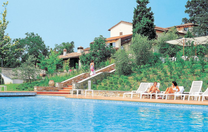 Riccio r1  i ricci 1157106,Apartamento  con piscina privada en Impruneta Fi, en Toscana, Italia para 6 personas...