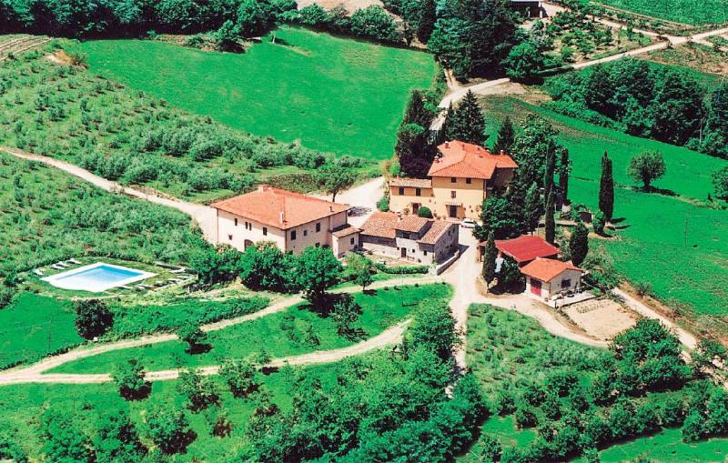 Trebbiolo 1 1157142,Apartamento  con piscina privada en Dicomano, en Toscana, Italia para 6 personas...