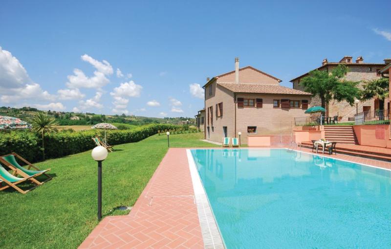 Casale del borgo 6 1157208,Apartamento  con piscina privada en Montaione Fi, en Toscana, Italia para 4 personas...