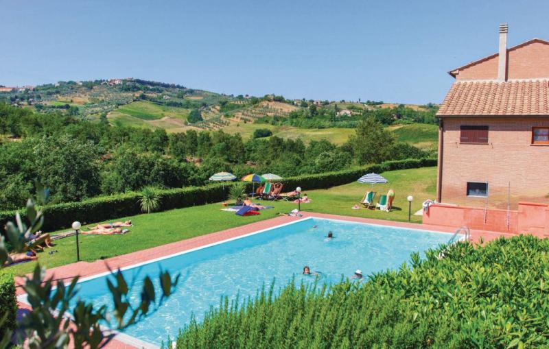 Casale del borgo 7 1157209,Apartamento en Montaione Fi, en Toscana, Italia  con piscina privada para 4 personas...