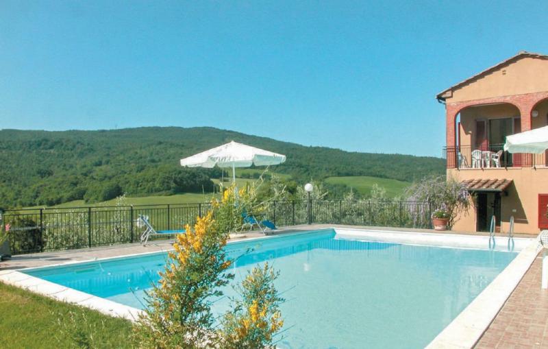 Capanne 1 1157473,Vivienda de vacaciones  con piscina privada en Pomarance Pi, en Toscana, Italia para 6 personas...