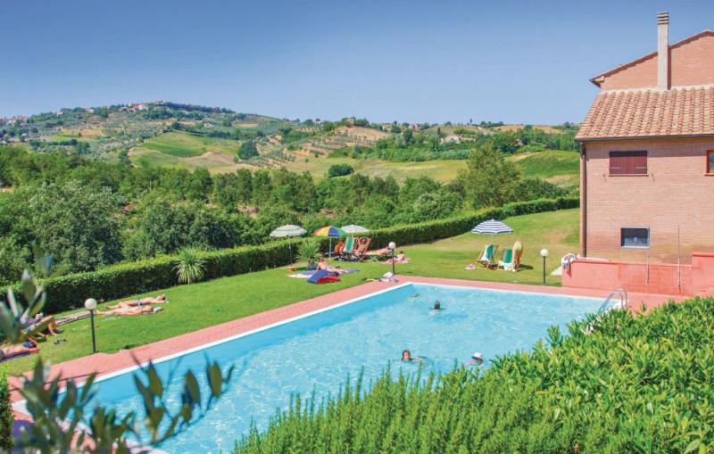 Casale del borgo 13 1157474,Apartamento  con piscina privada en Montaione Fi, en Toscana, Italia para 4 personas...