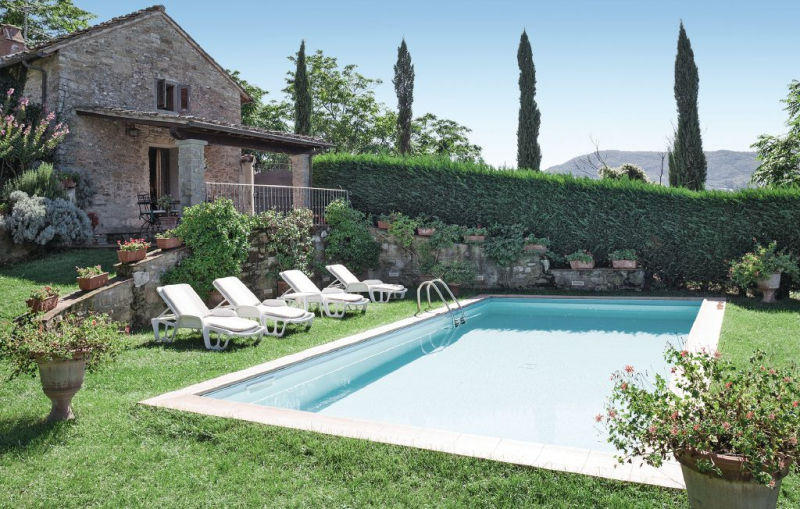 Vista san lorenzo 1157649,Casa  con piscina privada en Dicomano, en Toscana, Italia para 4 personas...