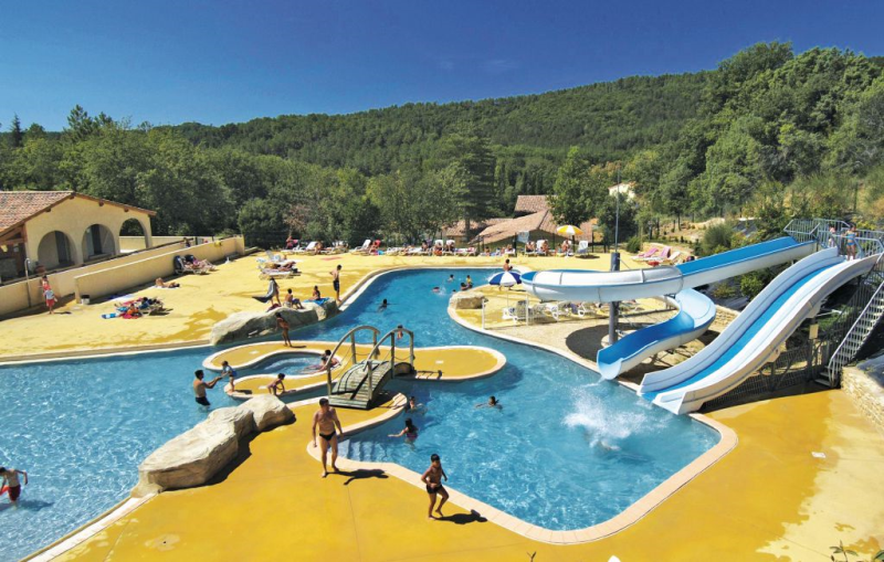 1158370,Apartamento  con piscina privada en Salavas, Ardèche, Francia para 6 personas...
