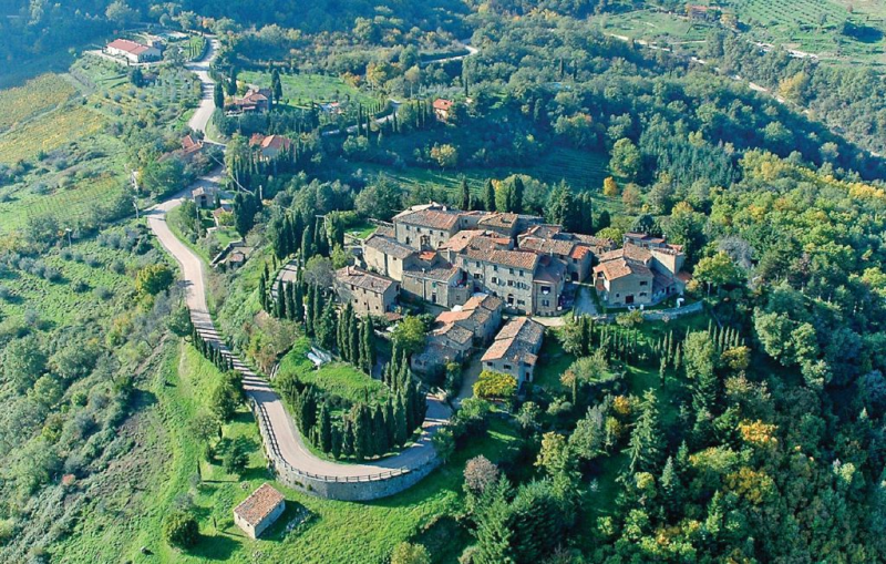 Dama 1160344,Apartamento en Gaiole In Chianti Si, en Toscana, Italia  con piscina privada para 4 personas...