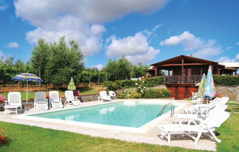 Le stalle a cinque stelle 3 1165935,Apartamento en Cortona, en Toscana, Italia  con piscina privada para 6 personas...