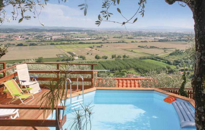San michele 1169085,Casa  con piscina privada en Buti Pi, en Toscana, Italia para 4 personas...
