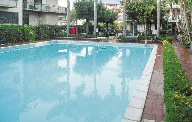 Residence le piramidi 1170670,Apartamento  con piscina privada en Fondachello Mascali Ct, Sicily, Italia para 6 personas...