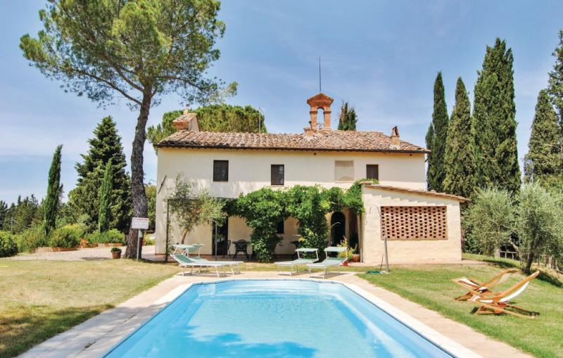Poggio napoleone 1170689,Casa grande en Monteroni D´arbia Si, en Toscana, Italia  con piscina privada para 14 personas...