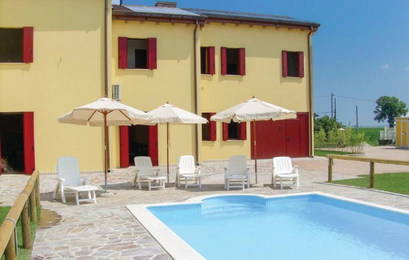 Apt 4 1173410,Apartamento  con piscina privada en Ariano Polesine (Ro), Veneto, Italia para 3 personas...